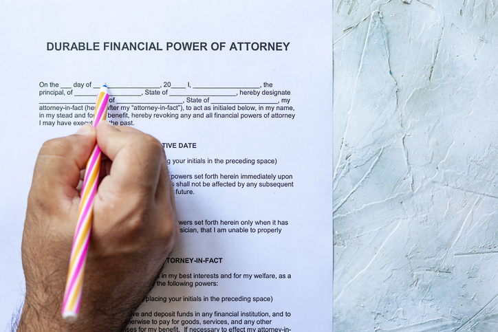 What is the difference between a springing vs a durable power of attorney?